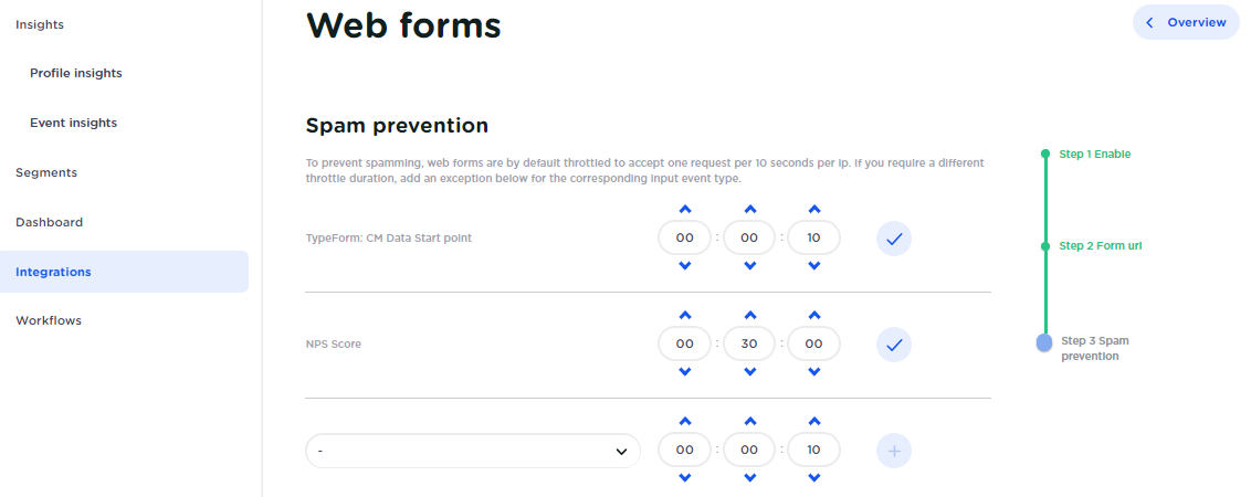 How to capture Web form posts | CM Help Center