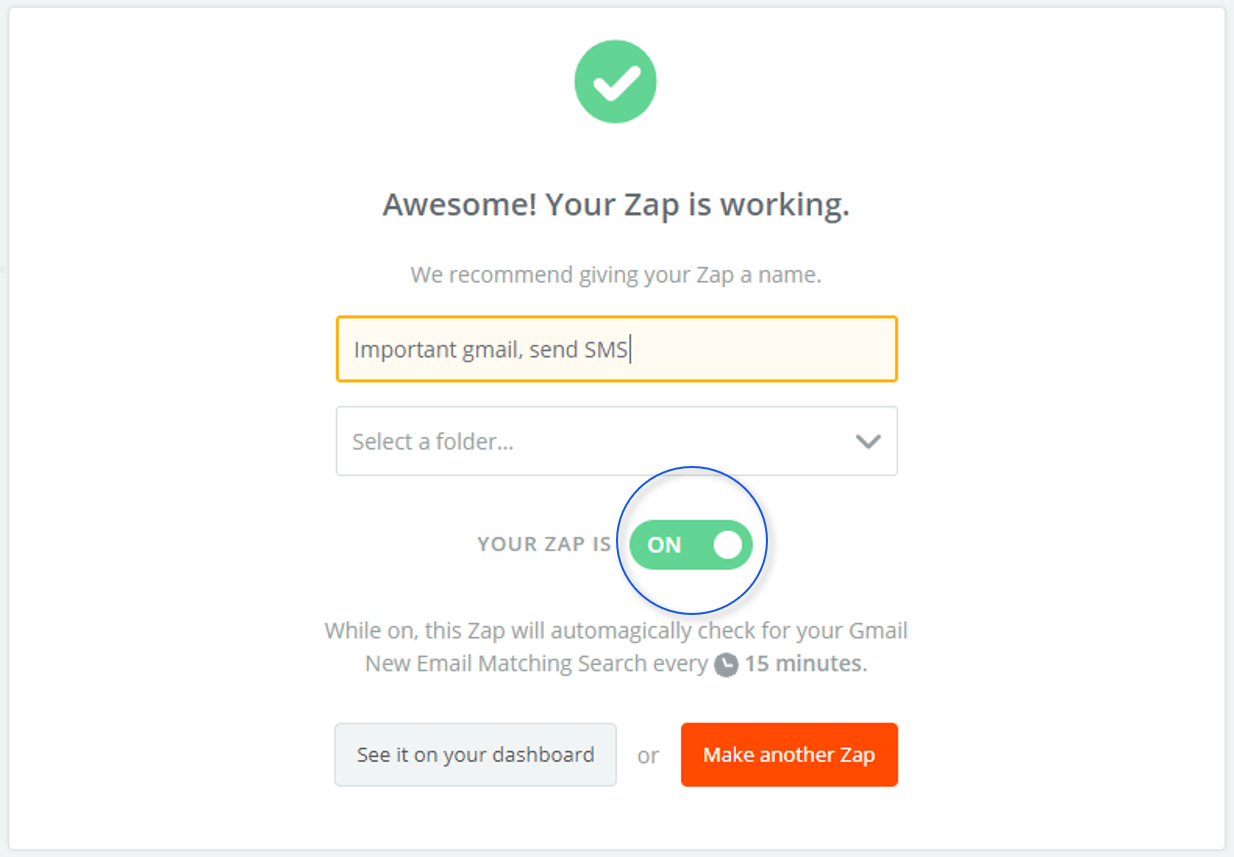 How to send CM.com SMS on Zapier | CM Help Center